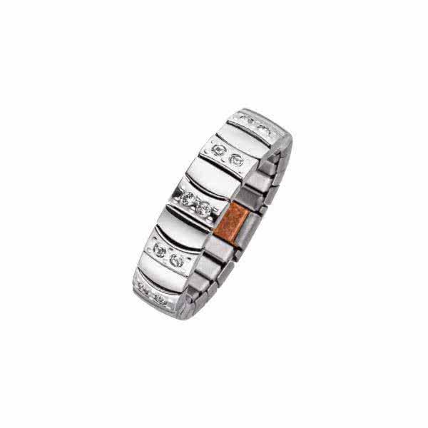 Flexi Magnet Ring, in matt-gloss design