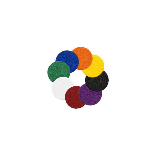 Filzplättchen 12mm für 20mm Anhänger/Armbänder in 8 Farben