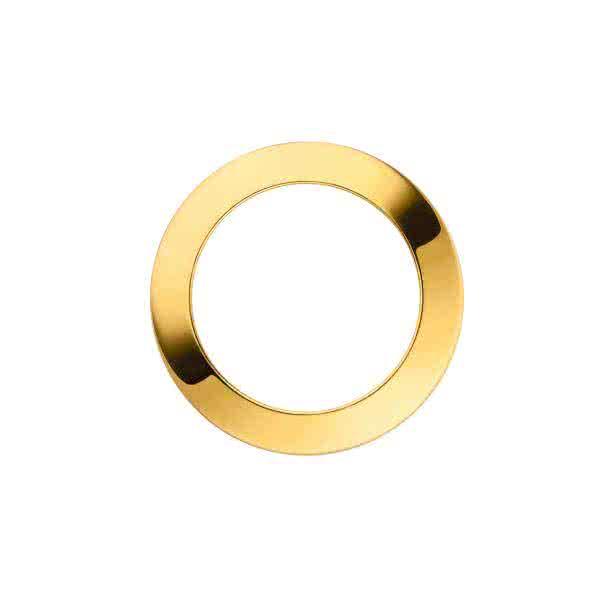 Uhrblende für großes Uhrwerk – gold