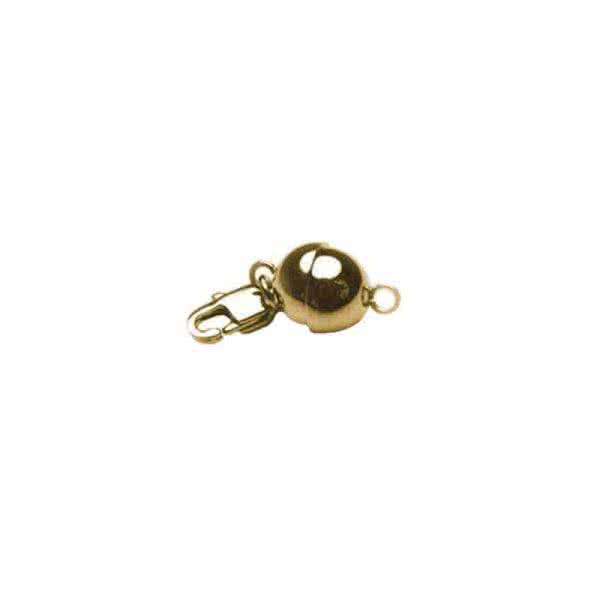 Magnetverschluss goldfarbene Magnetkugel