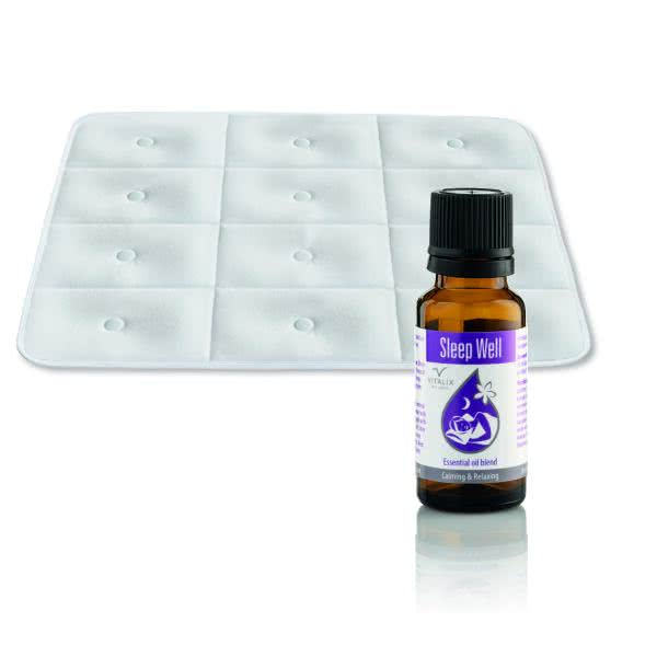 Aroma oil + magnetic mat for bed or sofa