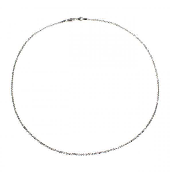 Kugel Halskette Edelstahl (l=70cm, d=1,5mm)