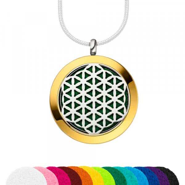 Pendentif magnétique bijoux parfumés 30 mm mix&match