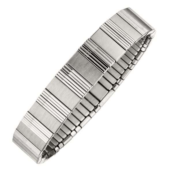 Bracelet magnétique avec lignes fines, 11 mm de largeur
