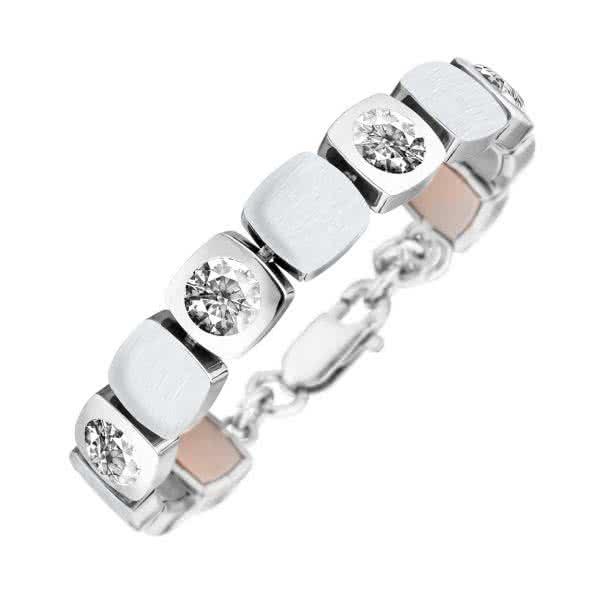 Magnet-Armband Cubic-Design matt/glänzend