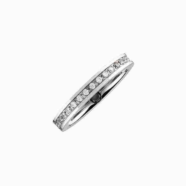 Magnetic ring with zirconia
