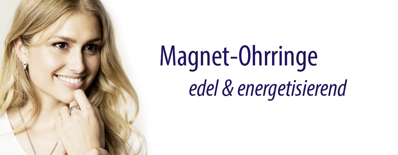 Magnetohrringe Magnet Schmuck Ohrringe auch ohne Loch Strassstein 9 mm Kristall