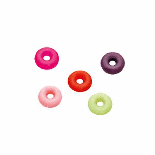In 5 Farben (rosa, grün, lila, rot, pink) Je 6 Stück