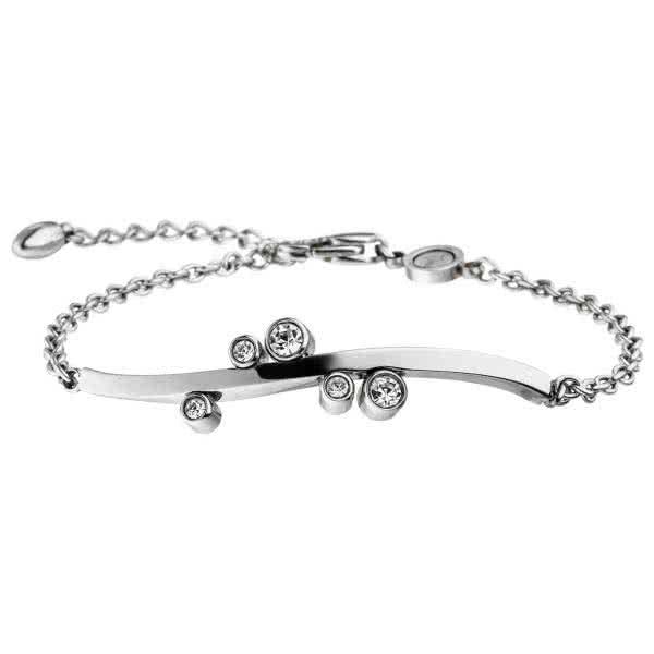 Magnetic bracelet New Wave with sparkling crystals