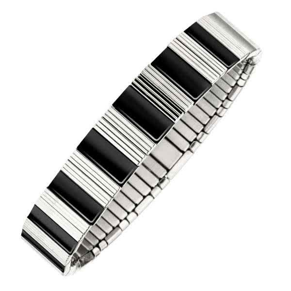 Flexi Magnetarmband mit feinen Linien