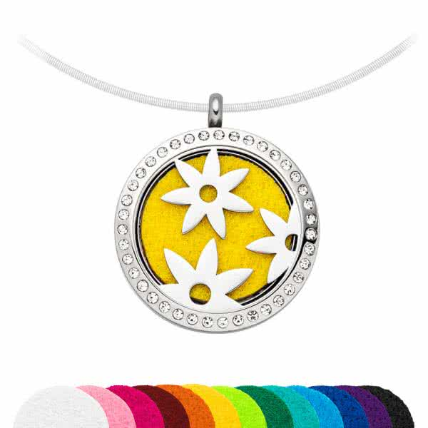 SET: magnetic pendant scented jewellery pendant 30 mm mix&match