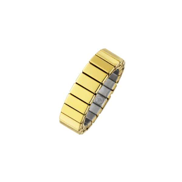Flexibler Magnetring in puristischem Design mit Kupfer-Elementen