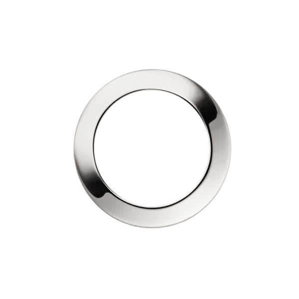 Uhrblende für großes Uhrwerk – silber