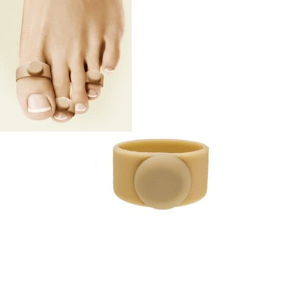 Magnet silicone toe ring