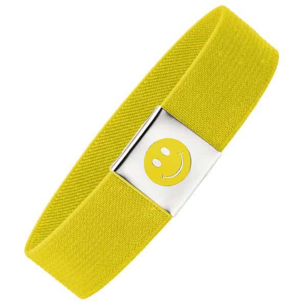 Magnet-Flaschenband Smiley in 7 Farben