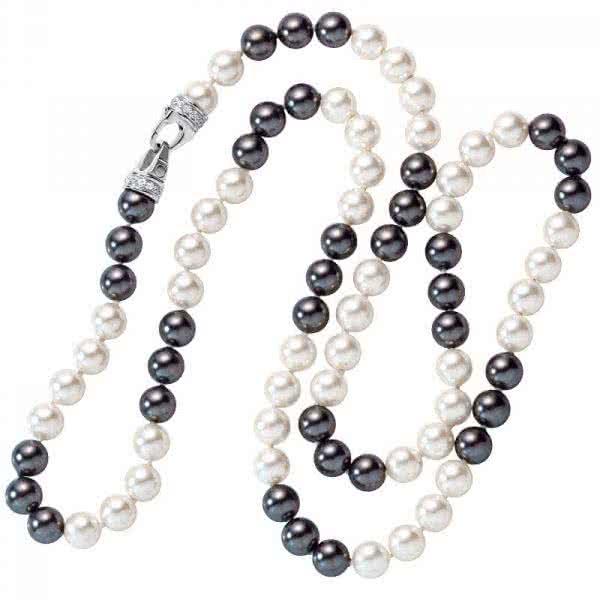 Magnet-Perlenkette 90cm