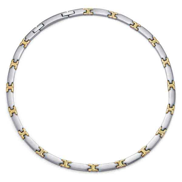 "Collier Segments ""Bicolore"""