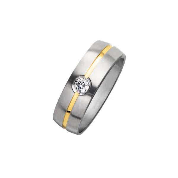 Ring Bicolor Elegance Pure
