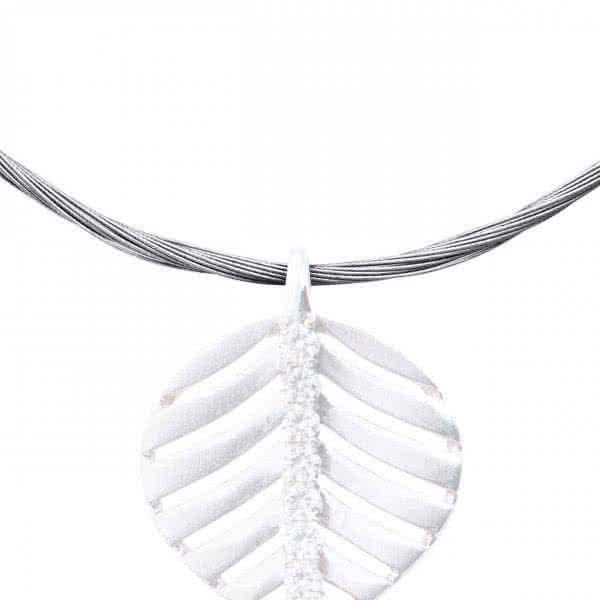 Magnet Necklace, twisted, 42-50 cm