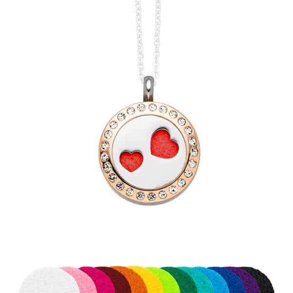 In a set: scented magnet pendant, lid and jewelry disc 20mm