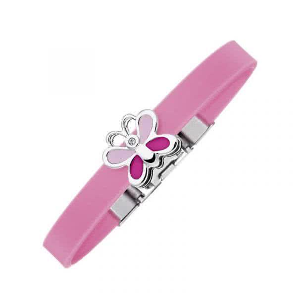 Kinder-Armband mit Schmetterling