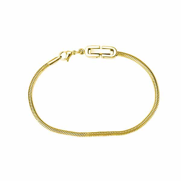 Armband Charms Edelstahl goldfarben