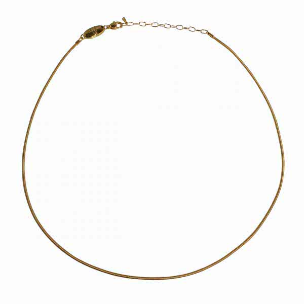 Halskette goldfarben