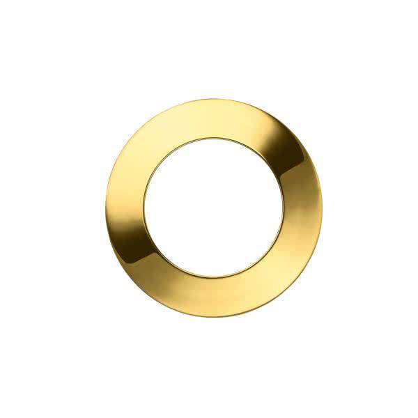 Uhrblende für kleines Uhrwerk – gold