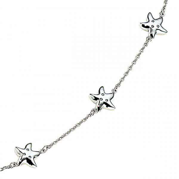 Starfish anklet