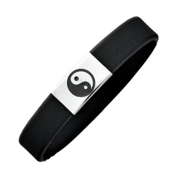 Kautschuk-Armband Yin & Yang