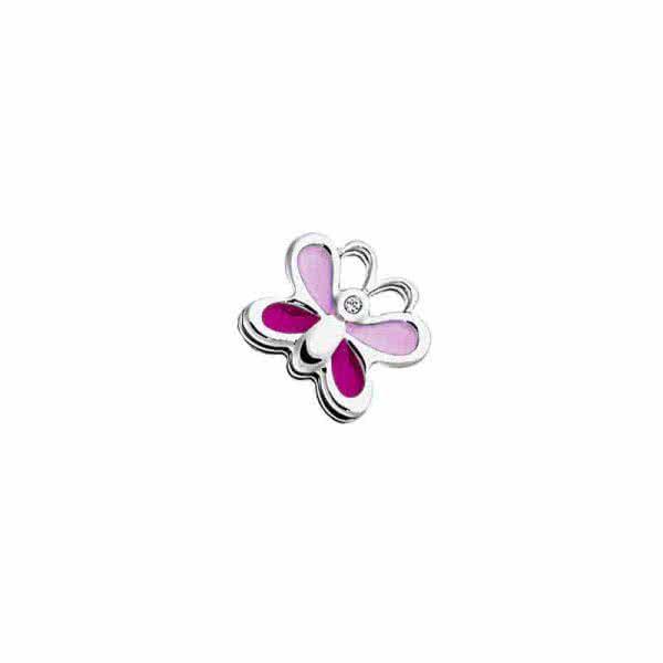 """Elément mobile bracelet enfant """"Papillon""""rose"""